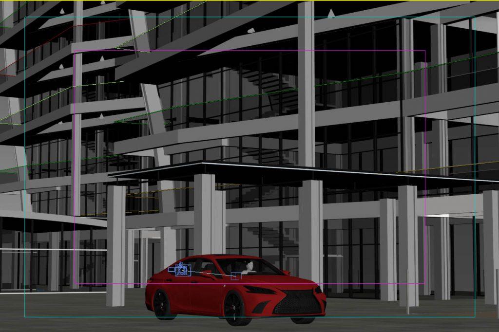 3dsmax screenshot car rendering