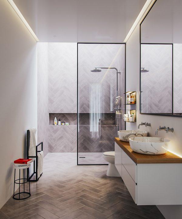 Kulp Bathroom vray corona renderer 3dsmax 3d scene 3d model download