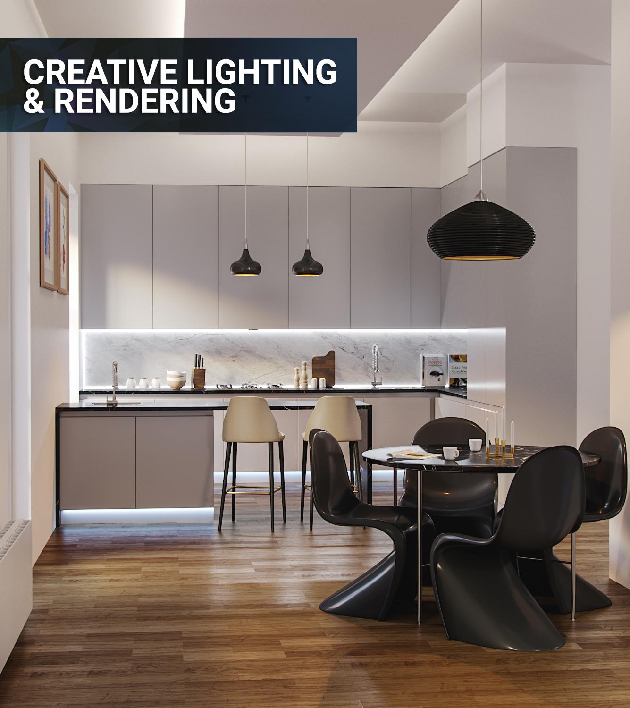 Creative Lighting & Rendering feat