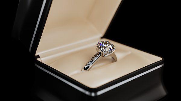 Diamond Ring 3d render corona vray 3dsmax jewelry 2