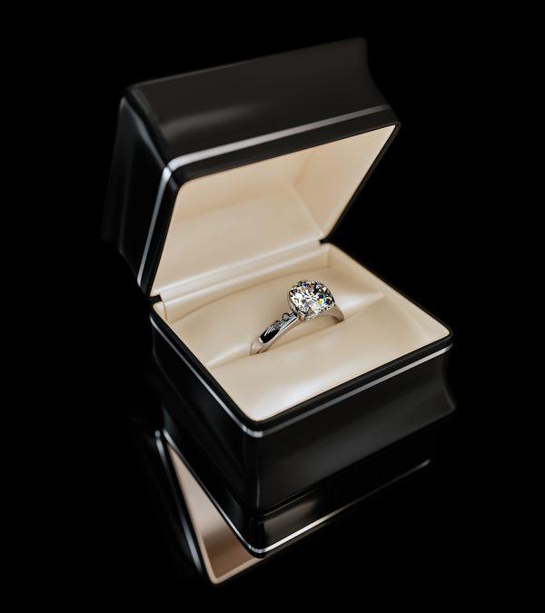 Diamond Ring 3d render corona vray 3dsmax jewelry