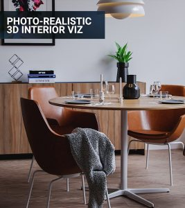 Photorealistic 3d interior visualization