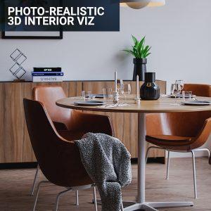 Photorealistic 3d interior visualization