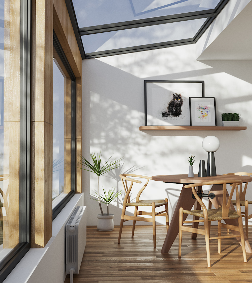 Natural Room 3D Interior | Vray & Corona