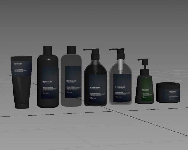 nutricare all products 3d