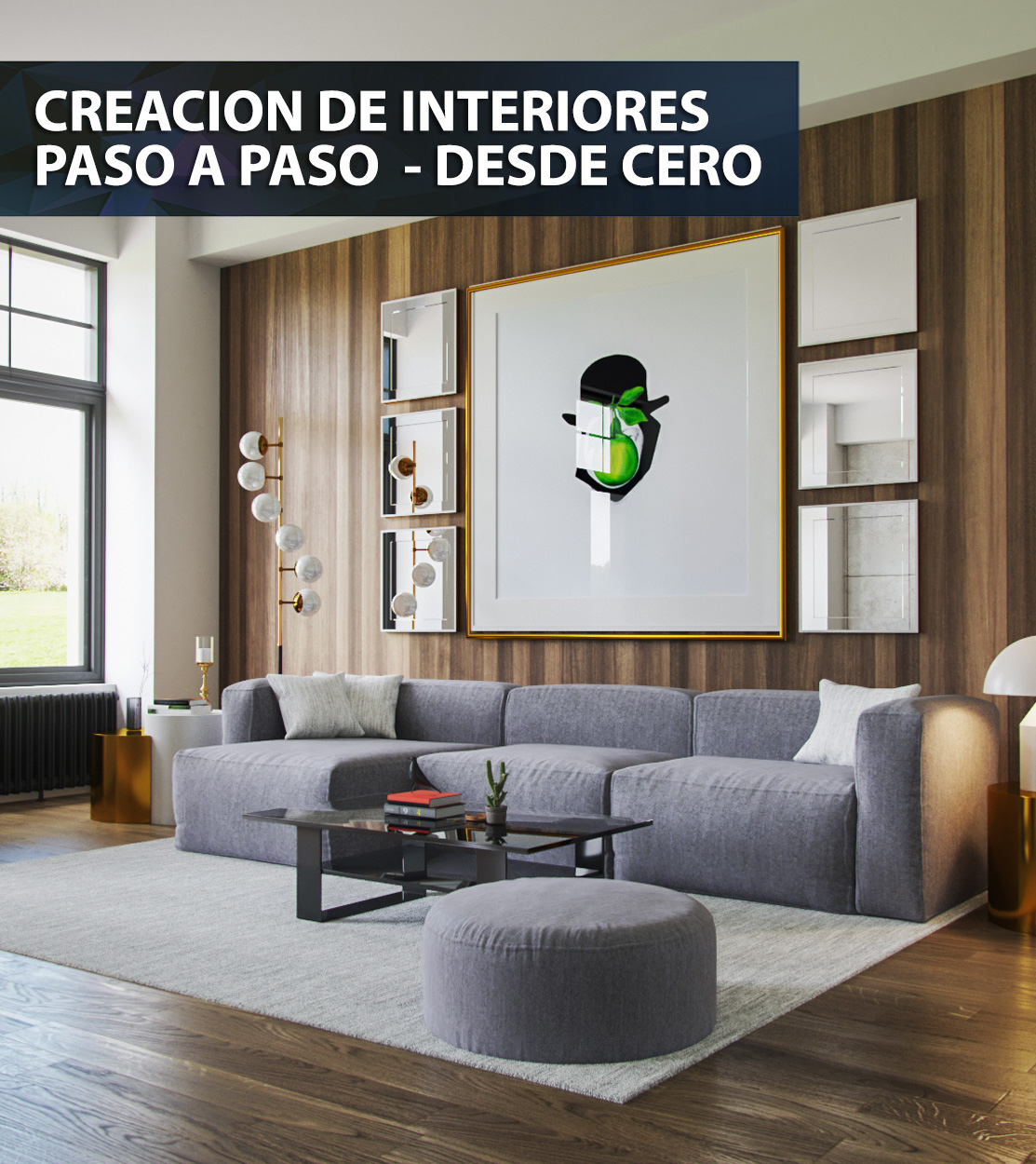 tutorial creacion interiores