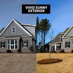 Vivid Sunny Exterior