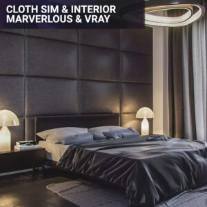 Cloth-simulation-and-interior-rendering-with-marvelous-designer-and-vray