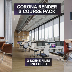 Corona render course pack 3d interior rendering tutorials 3dsmax