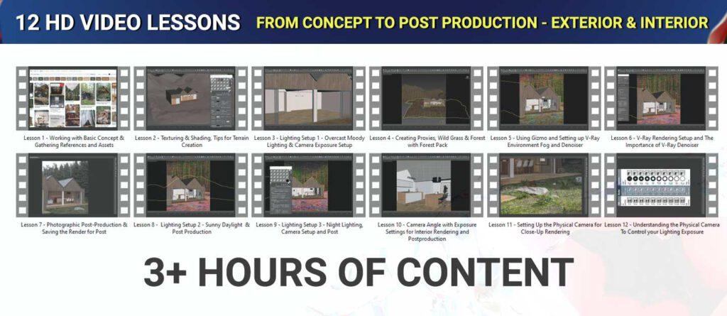 12-video-lessons-vray-archviz-course-3dsmax-realistic