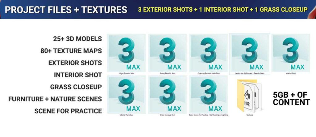 3d-models-texture-maps-3d-scenes-interior-exterio-3dsmax-vray-5gb