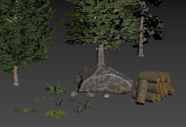 nature models