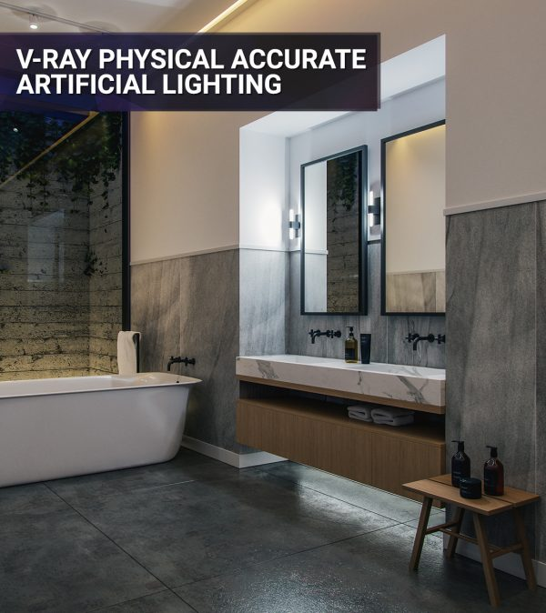 Artificial-Lighting-with-Vray