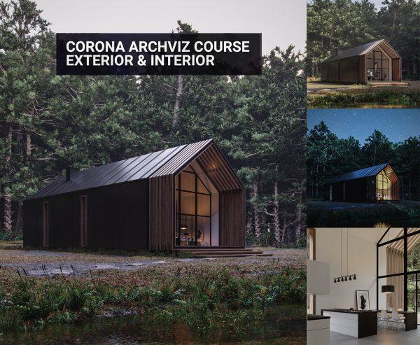 Corona Archviz Course Exterior & Interior feat