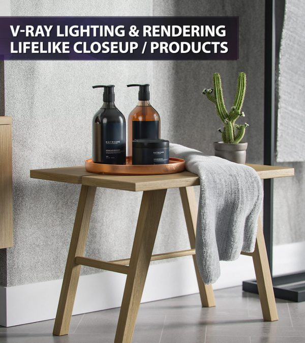 Feature V-Ray Lighting & Rendering Lifelike 3d Product Shot