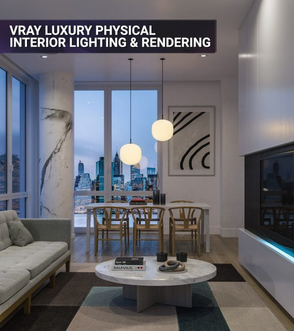 Vray Tutorial Luxury Physical Lighting and Rendering FEAT
